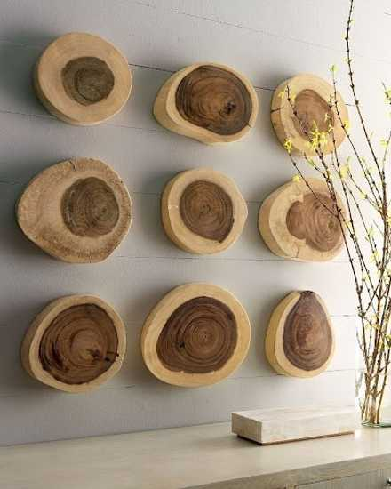 Natural objects as a decorative element suzanne fletcher for Interior decoration with waste material
