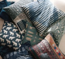Pottery Barn Shibori Pillows